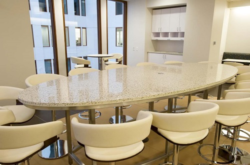 Amber Pearl  - Recycled Glass Countertops in San Jose, California