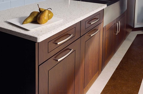 White Pearl - Recycled Glass Countertops - Bay Area CA