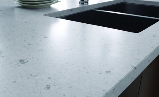 Bianco River - Silestone Countertops Bay Area California