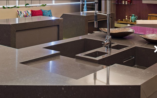 Merope - Quartz Countertops - San Francisco