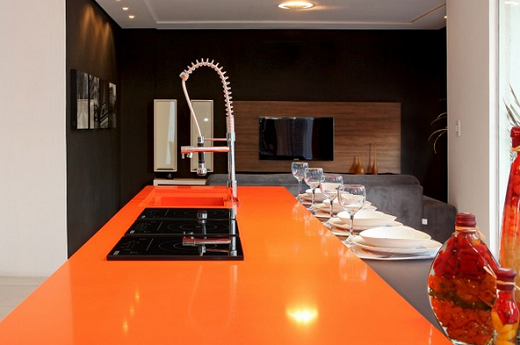 Attrayant Orange Cool   Quartz Countertops   San Jose