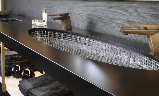 Black Anubis - Silestone  Countertops in San Francisco California