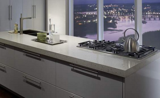 Flax - Zodiaq Quartz Countertops - Bay Area