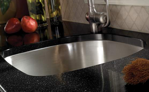 Mystic Black Zodiaq Quartz Countertops At
