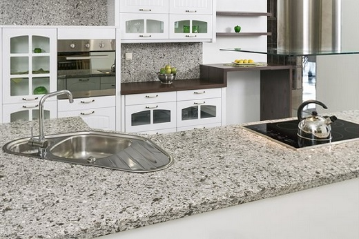 Amazing Cascade White   MSI Quartz Countertops San Jose