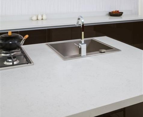 Fairy White -  MSI Quartz Countertops - San Francisco