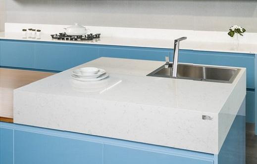 Fairy White -  MSI Quartz Countertops - Bay Area