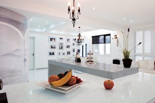 Iced White - MSI Quartz Countertops - San Francisco