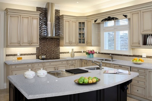 Snow White - MSI Quartz Countertops - San Jose