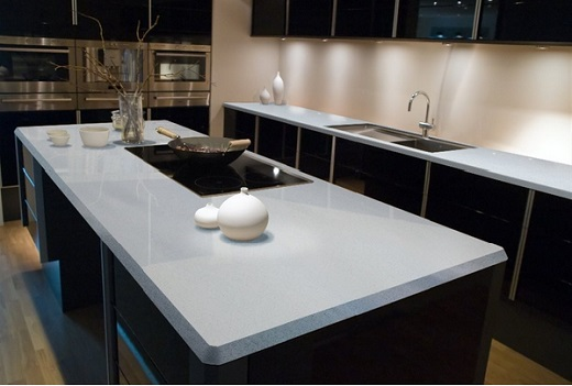 Sparkling White Msi Quartz Countertops At