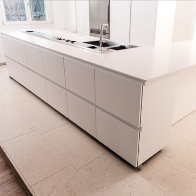 Bianco Crema Lux - Lapitec Countertops San Jose California