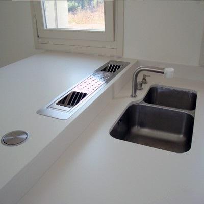 Bianco Polare Lux - Lapitec Countertops in Bay Area, California