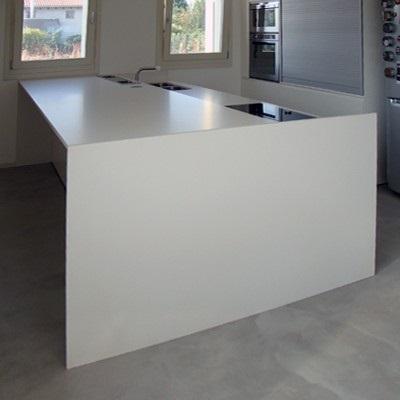 Bianco Polare Lux Lapitec Countertops In Bay Area California