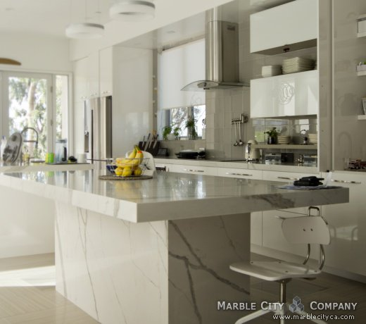 Calacatta Blanco Vadara Quartz Countertops Bay Area