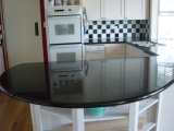 Absolute Black Granite Countertop Bay Area