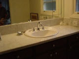 Bianco Carrara Honed - marble counters in Bay Area California