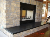 Absolute Black Honed Granite Countertops in San Francisco, California