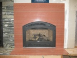 Fireplace Mantels San Jose Black Cosmic Granite