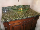 Bistro Green with Patina Countertop