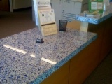 Cobalt Skyy - Vetrazzo Countertops - Bay Area, California