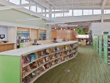 Denim Moss - Recycled Glass Countertops - San Jose