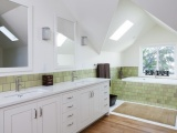 White Pearl - Recycled Glass Countertops - Bay Area