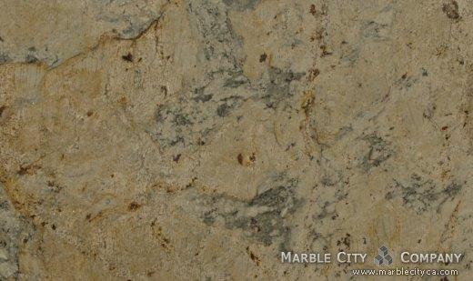 Crema Romano - Granite Countertops San Jose, California. Close up view — Close Up View