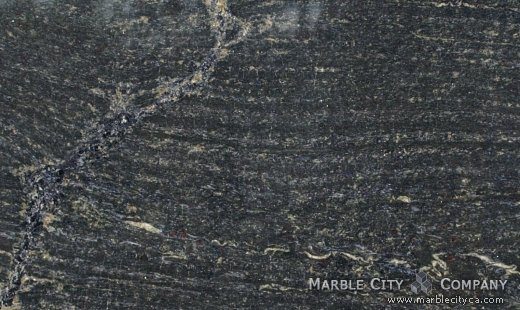 Blue Brazil - Granite Countertops San Jose, California. Close up view — Close Up View