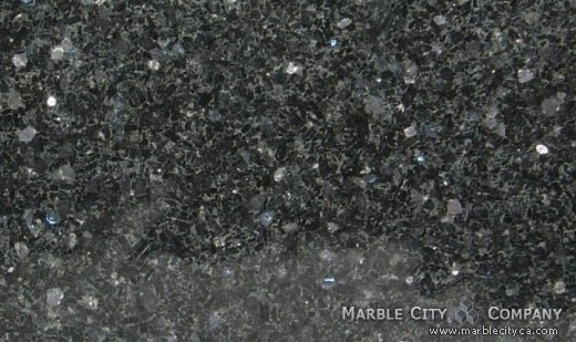 Volga Blue - Granite Countertops Bay Area, California. Close up view — Close Up View