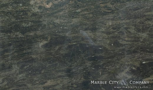 Verde Candeias - Granite Countertops Bay Area, California. Close up view — Close Up View