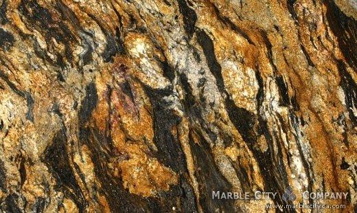 Comet Granite - Granite Countertops Bay Area, California. Close up view — Close Up View