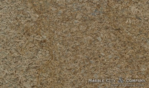 Santa Cecilia - Granite Countertops San Jose, California. Close up view — Close Up View