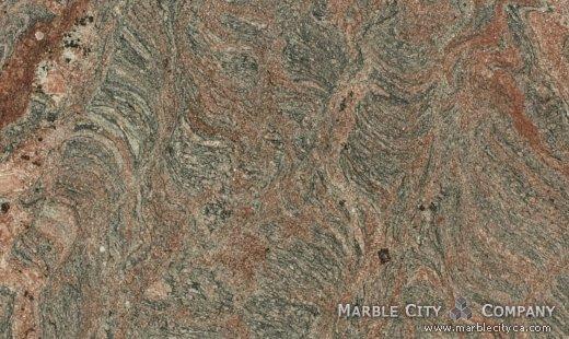 Tiffany - Granite Countertops San Francisco, California. Close up view — Close Up View