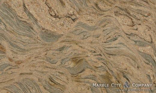 Juparana Colombo - Granite Countertops San Jose, California. Close up view — Close Up View