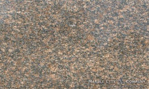 Sapphir Brown - Granite Countertops Bay Area, California. Close up view — Close Up View