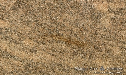 Key West Gold - Granite Countertops San Jose, California. Close up view — Close Up View