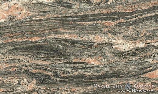Tropical Bahia - Granite Countertops Bay Area, California. Close up view — Close Up View