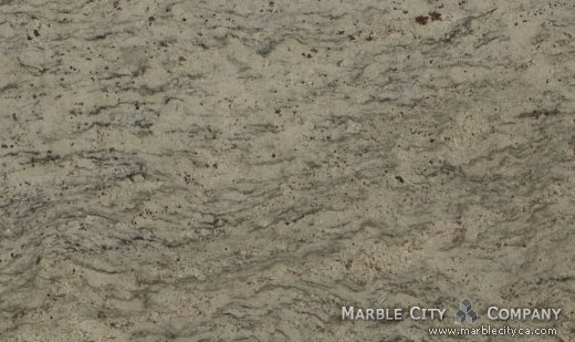 Bianco Romano - Granite Countertops San Jose, California. Close up view — Close Up View