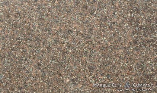 Bahia Bordeaux - Granite Countertops San Francisco, California. Close up view — Close Up View