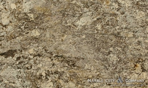 Golden Lace - Granite Countertops San Jose, California. Close up view — Close Up View