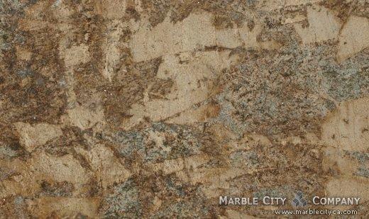 Persa Gold - Granite Countertops San Francisco, California. Close up view — Close Up View