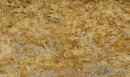 ... Yellow Moon   Granite Countertops Bay Area, California. Close Up View U2014  Close Up ...