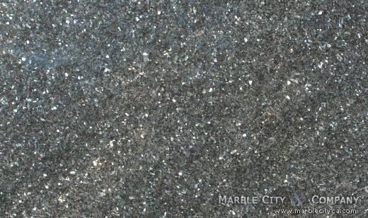 Blue Pearl - Granite Countertops San Francisco, California. Close up view — Close Up View