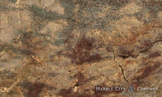 Ibere Crema Bordeaux - Granite Countertops Bay Area, California. Close up view — Close Up View