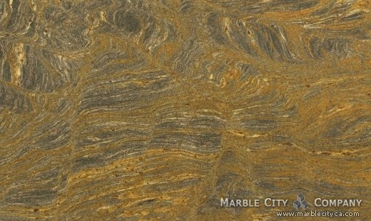 Fantastic Brown - Granite Countertops San Francisco, California. Close up view — Close Up View