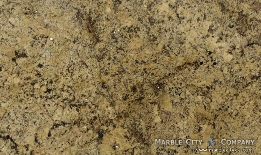 Absolute Cream - Granite Countertops Bay Area, California. Close up view — Close Up View