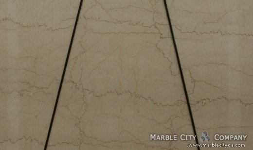 Botticino - Marble Countertops San Jose, California. Close up view — Close Up View