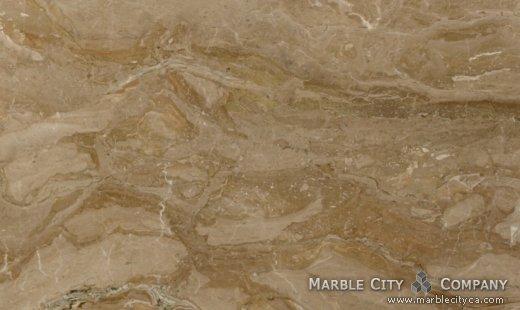 Brecia Oniciata - Marble Countertops San Jose, California. Close up view — Close Up View