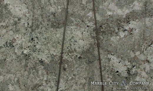 Namib Green - Granite Countertops Bay Area, California. Close up view — Close Up View