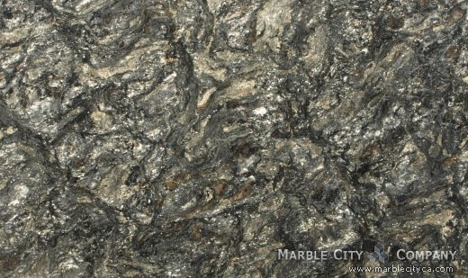 Metallic - Granite Countertops Bay Area, California. Close up view — Close Up View